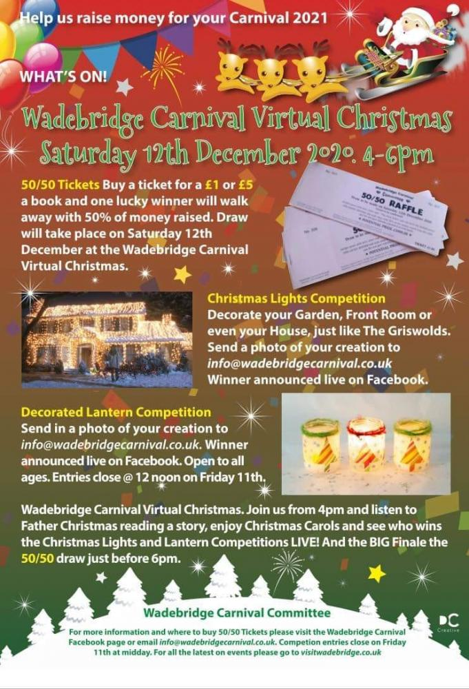 Wadebridge Carnival Virtual Christmas