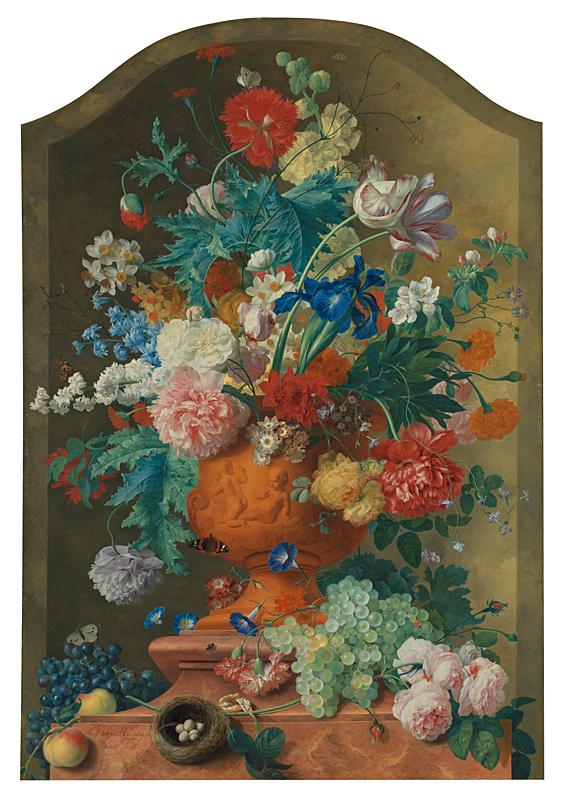 Jan van Huysum Visits: Dutch Masterpiece Comes to Cornwall